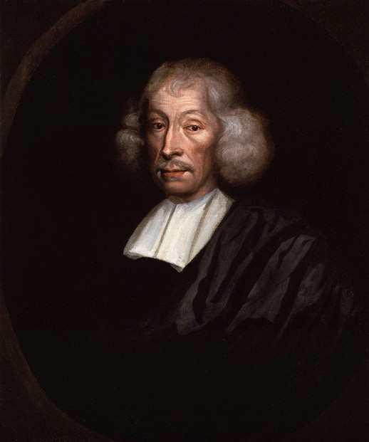 oil on canvas portrait of John Ray painted by unknown artist after 1680 ~ National Portrait Gallery, London
