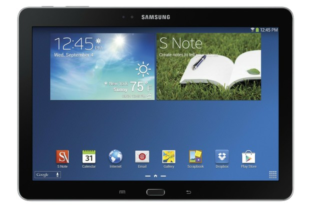 Another image of how the Samsung Galaxy Note Tablet With S Pen looks like