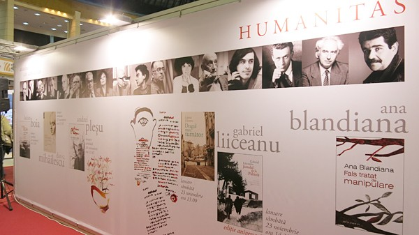 Major Romanian authors at Humanitas