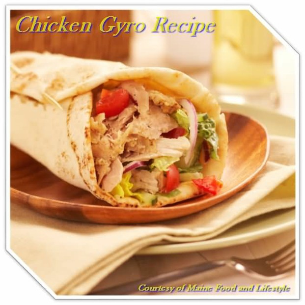 Chicken Gyro Recipe - Friday Night Dinner Ideas