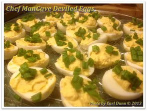 Paula Deen Deviled Eggs by Chef ManCave