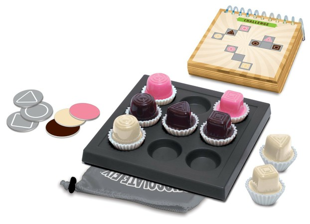 An image of the Chocolate Fix Sweet Logic Game for Chocolate Lovers