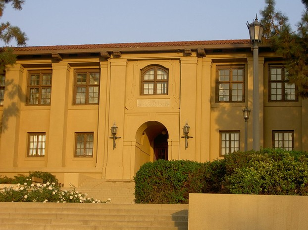 University of California-Riverside's original Citrus Experiment Station, built in Mission Style in 1917