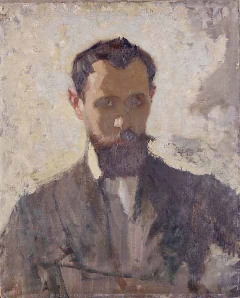 Adolph Valette Self-Portrait