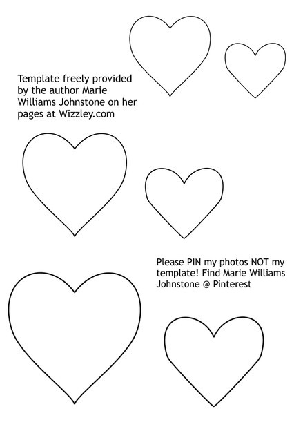How to make stuffed felt hearts tutorial for Heart template for sewing