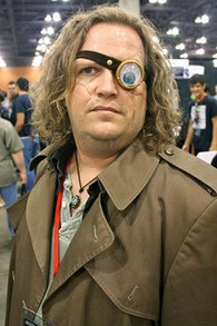 "Alastor ""Mad Eye"" Moody from Harry Potter at Phoenix Comicon 2011."