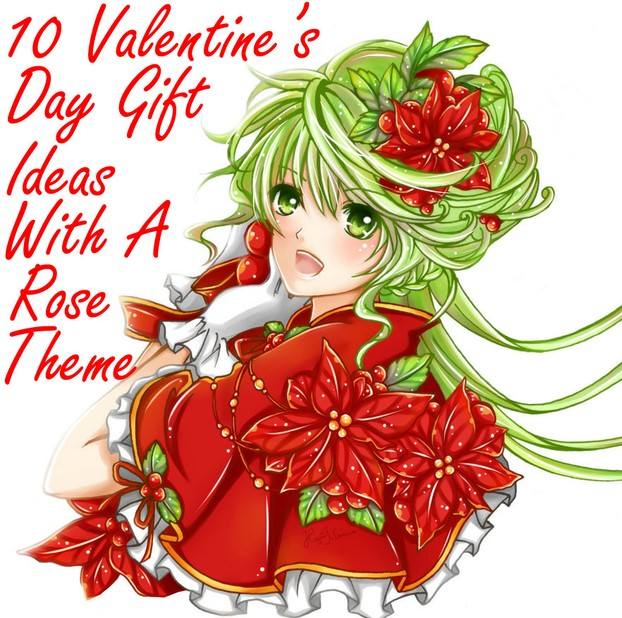 10 Valentine's Day Gift Ideas With A Rose Theme