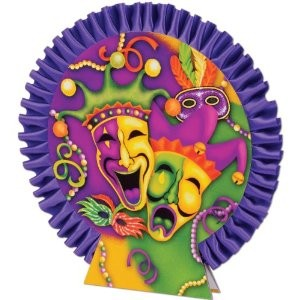 Mardi Gras Centerpiece Party Accessory