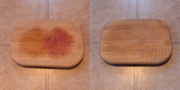 Clean and deodorize cutting boards