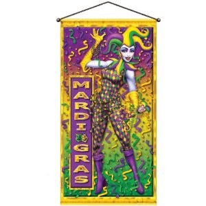 Mardi Gras Door/Wall Panel Party Accessory