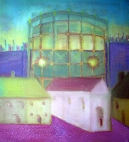 Gasometer, Wood Green, London