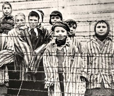 Image: Child Survivors of Auschwitz