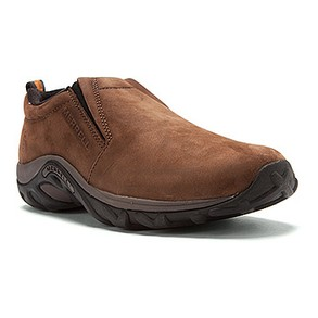 Men's Merrell Jungle Moc Nubuck Brown - Wide Fitting