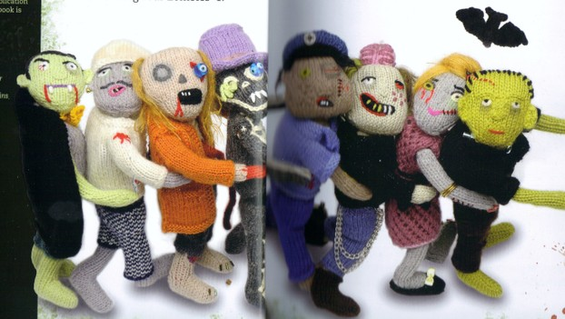 Knitting Zombies : Book review knit your own zombie by fiona goble