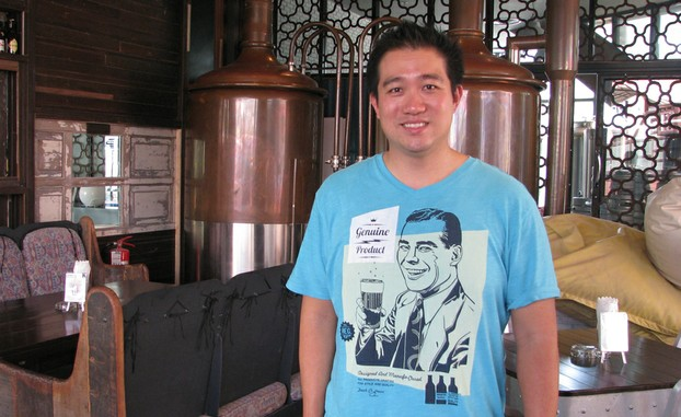 Sukij M Thipatima, head brewer at the Full Moon Brewwork
