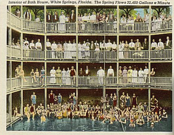 Spring Bath House in White Springs, Florida