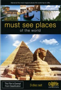 Must See Places of the World DVD