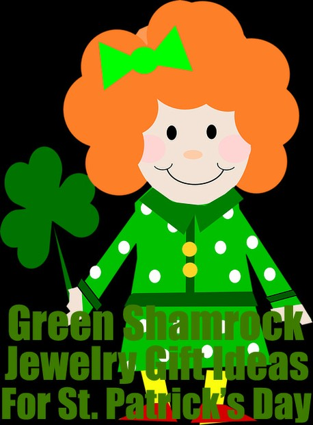 Green Shamrock Jewelry Gift Ideas For Saint Patrick's Day