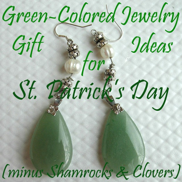 Green-Colored Jewelry Gift Ideas For Saint Patrick's Day (Minus Shamrocks And Clovers)
