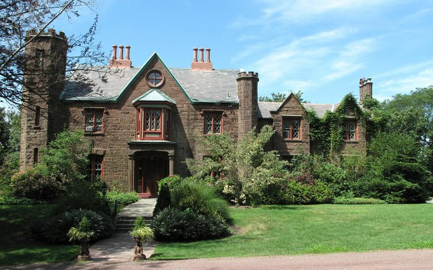 Malbone Castle, Newport, Rhode Island: hints of the wealthy upbringing of Dr. Hunter's wife