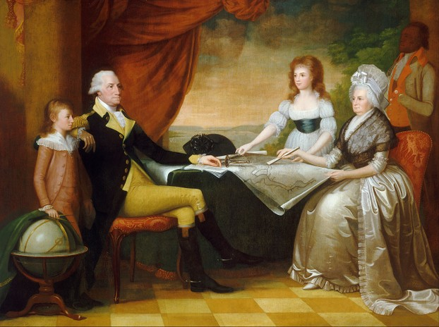 1789-1796 oil on canvas by Edward Savage (November 26, 1761 – July 6, 1817) ~ National Gallery of Art, Washington DC
