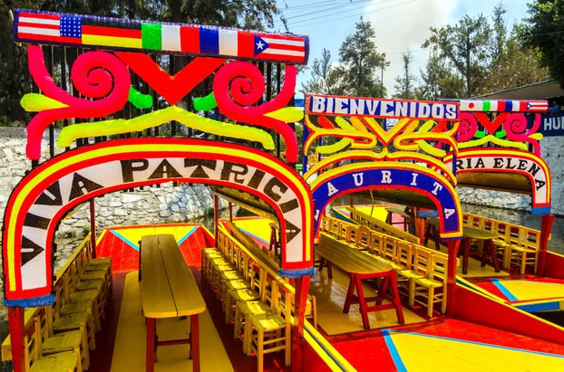 """Mexico City Boats in Xochimilco"""