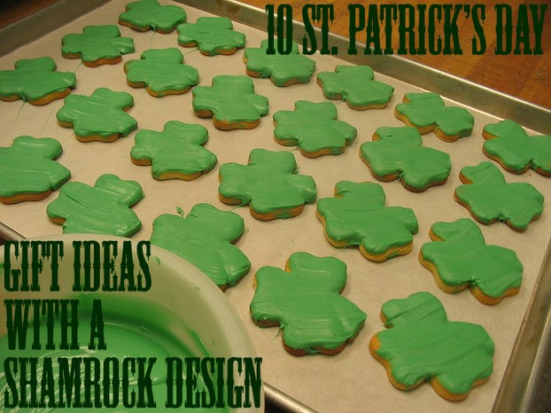 10 Saint Patrick's Day Gift Ideas With A Shamrock Design