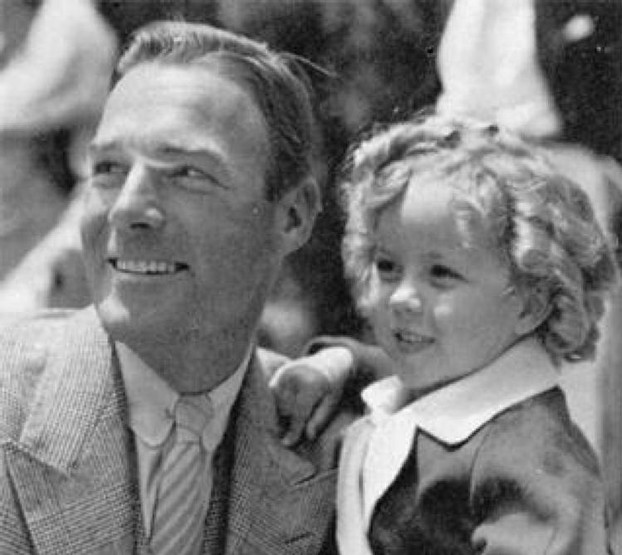 Randolph Scott and Shirley Temple