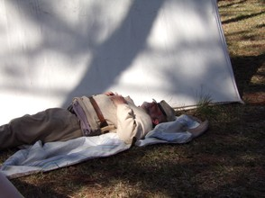 Sleeping Confederate Soldier