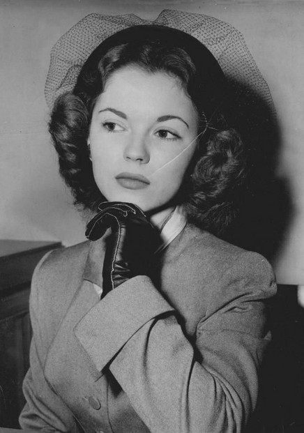 Shirley Temple, c. 1949