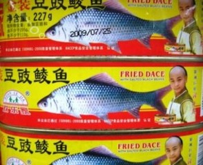Fried Dace in a can?