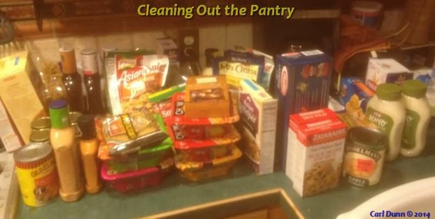 Cleaning Out the Pantry: Non-Paleo Food