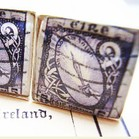 Irish Stamp Cufflinks