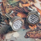 Personalised Irish Dictionary Cufflinks
