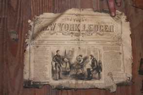 1883 New York Ledger Newspaper