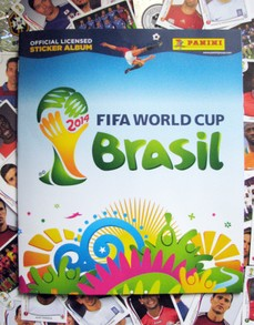 Panini Official Fifa World Cup 2014 Brasil Sticker Album