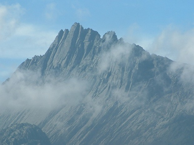 Puncak Jaya, also known as Carstensz Pyramid in honor of 17th century Dutch explorer Jan Carstenszoon