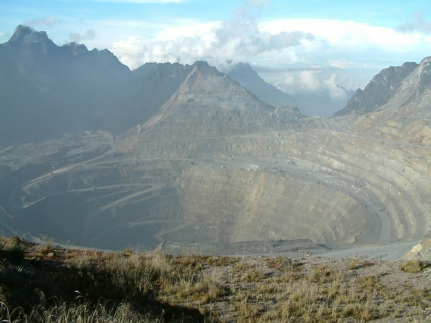 Grasberg Mine: in Sudirman Range, western portion of Maoke Mountains, Papua province, Indonesia (New Guinea)