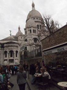 View of Basilica Sacre-Coeur
