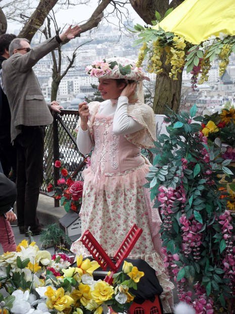 Flower Seller of Montmartre