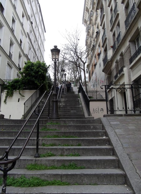 Stairs, Montmartre