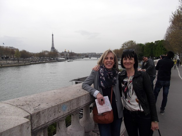The Girls by the Seine
