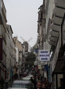 Windmill in Montmartre