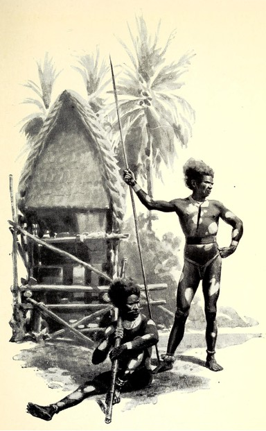 A.E. Pratt, Two Years Among New Guinea Cannibals (1906), p. 169