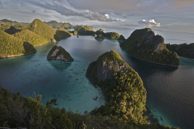 panorama of Raja Ampat Islands