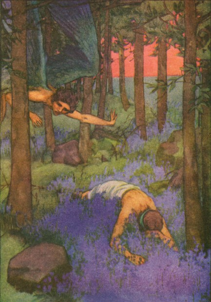Jean Lang, A Book of Myths (1915), pp 132-133