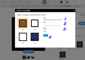 Adding Products to Polyvore