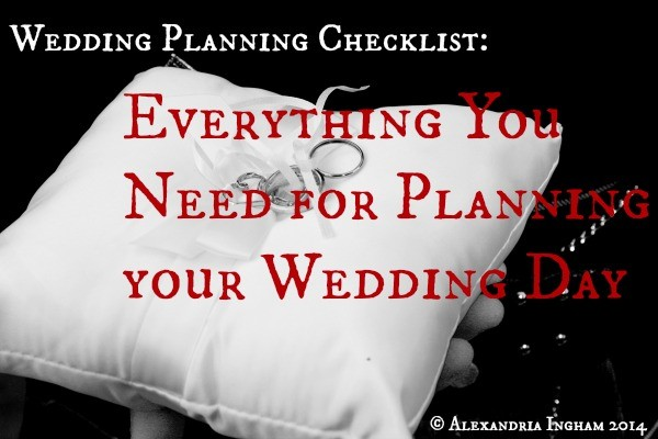 Your Wedding Planning Checklist: Everything You Need To