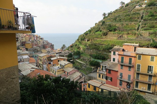 A Typical Cinque Terre Village