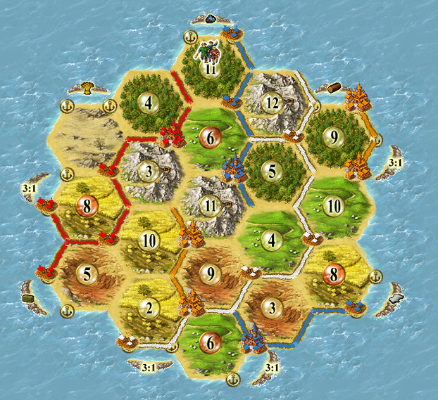 Image: Cutting Across Roads in Catan